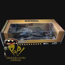 "BATMOBILE 1989 MOVIE Mez-Itz with BATMAN 2"" Mini Figure BOX SET Mezco 2017!"