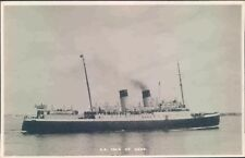 Postcard Shipping ferries The Isle of Sark Real photo  unposted