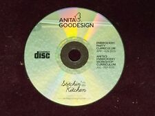 Anita Goodesign STITCHIN IN THE KITCHEN Embroidery Workshop Curriculum CD ONLY