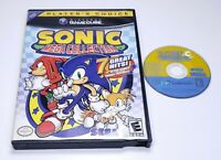 Sonic Mega Collection GameCube Case and Disc Only Tested Works