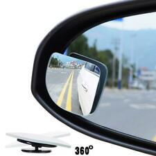 2pcs Universal Wide Angle Round Convex Blind Spot Mirror For Car Auto Rear View