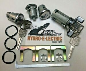NEW 1969-1970 & 1977-1978 Bonneville & Catalina Ignition, Door & Trunk Lock Set