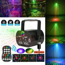 90 Muster RGB Laserlicht DJ Projektor LED Disco Beleuchtung für Home Party DHL