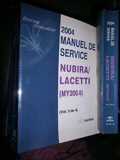 Daewoo NUBIRA LACETTI 2004 : Workshop manual
