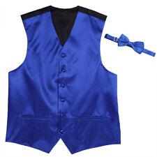 #38 Fashion Men Sleeveless Formal Dress Suit Slim Tuxedo Waistcoat Coat Vest Tie