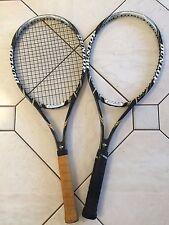 2X Dunlop aerogel 4D 100 grip 4 3/8 Tennis Racquet