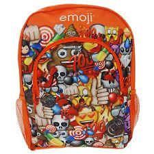 EMOJI LARGE RUCKSACK BACKPACK SCHOOL BAG SMILEY SMILIE FACE KIDS