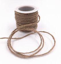 DIY 10m packaging gift  Primary colors jute linen ribbon rope rope width 2MM