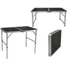 Alu Campingtisch ca. 90x60cm höhenverstellbar Reisetisch Klapptisch Kofferformat