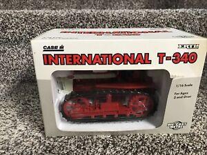 International T-340 Crawler 1/16 Scale Ertl Die-Cast Metal