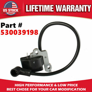 530039198 Ignition Coil Module For Poulan Craftsman Chainsaw WoodShark Wildthing