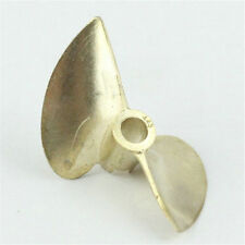 "PROPELLER 443 Bronze prop 3/16"" shaft 2 blade 44mm Diameter RC boat 76"