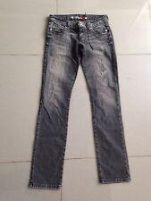 Da Donna Guess Jeans nero effetto invecchiato taglia 27