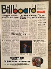 Billboard Jan 3rd 1970 Rascals Aretha Franklin Moody Blues Brel Quicksilver