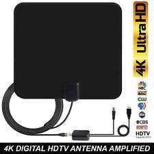 80 Mile HDTV Antenna interna Antenna HD TV digitale del segnale amplificato BOOSTER + Cavo