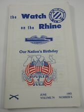 The Watch on the Rhine Society of the Third Infantry Div. June 1993 Vol.74 No. 6