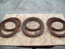 John Deere Used Cast Steel Corn Planter Plates , Lot of 6 Plates , 3-Pairs