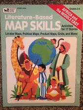 LITERATURE-BASED MAP SKILLS AFRICA/MIDDLE EAST (Grades 2-4) by Maria Fleming