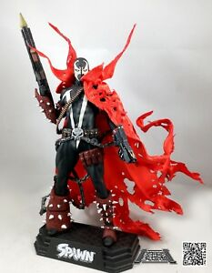 Red Battle Damage Cape for McFarlane Toys Spawn (No Figure)