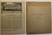 Unsere Heimat Beilage Wochenblatt für Wilsdruff 1912 Sachsen Geschichte sf