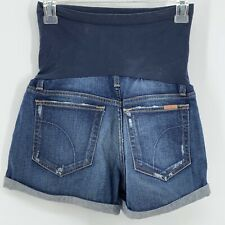 JOE'S JEANS Maternity Distressed Cut Off Collector's Edition Jean Shorts Size 27