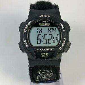Timex Indiglo Men's Multifuction Ironman Triathlon 10 Lap Digital Quartz Watch