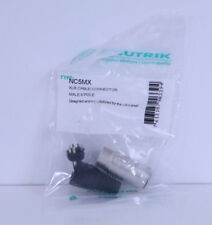 Single Neutrik NC5MX XLR Cable Connector Male 5 Pole NEW