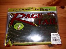 "Strike King Rage Tail 8"" Recon Worm - RGRECON-18 - Watermelon Red Flk - NEW!"