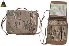 BRITISH ARMY A4 NIREX FOLDER BINDER HOLDER COMMANDER MAP CASE MULTICAM MTP NYREX