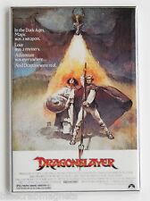 Dragonslayer FRIDGE MAGNET movie poster dragon slayer fantasy