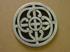 CELTIC KNOT STEPPING STONE  PLASTER CONCRETE MOLD 1096 Moldcreations