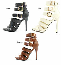 New Refresh Clara Strappy Gladiator Buckle High Heels Open Toe Sandals SZ 5.5-10