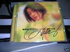 Kelly Chen Autograph cd Wo Bu Yi We Chan Hui Ling