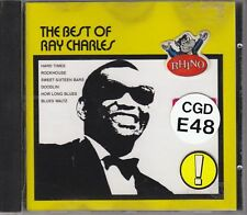 RAY CHARLES - the best of CD