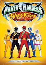 POWER RANGERS WILD FORCE COMPLETE SERIES New Sealed 5 DVD Set Season 10