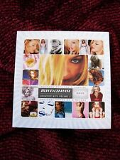 Madonna GHV2 Spain ONLY PROMO Sampler CD Unique Cover & Disc Graphics Erotica
