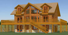 40x32 House -- 5 bedroom 4 Bath -- 2,932 sqft -- PDF Floor Plan -- Model 1C
