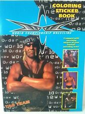 WCW 1999 TAGTEAM WRESTLING STICKER ALBUM COLORING BOOK New