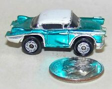 Small Micro Machine 1958 Cadillac Seville in Two Tonw Metalic Blue and White