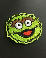 Oscar Puppet Iron On Sew On Embroidered Patch Appliqué