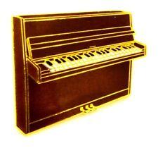 Pin Spilla Pianoforte A Muro cm 3,2 x 2,7 - (Dunlop) - (Cod. M123)