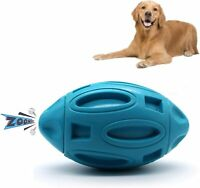 Squeaky Dog Toys Tough Ball for Aggressive Chewers,Indestructible Dog Fetch Toy