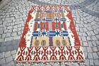 Kilim Rug 3'9 x 5'5 ft  Anatolian Konia Kilim Bohemian Fine Quality Kilim Rug