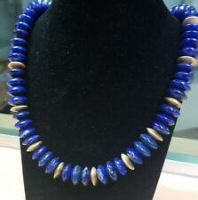 Echtschmuck Halsketten & Anhänger im Collier Stil mit Lapis