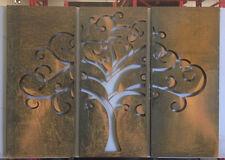 Decorative Garden Metal Fence Screen 'Tree of  life' 2000x 2800, Corten Steel