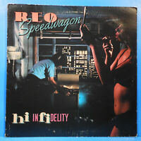 REO SPEEDWAGON HI INFIDELITY LP 1980 ORIGINAL PRESS NICE CONDITION! VG/VG!!A