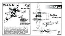 Unicraft Models 1/72 MESSERSCHMITT Me-109 ZZ ZWILLING Resin Conversion Kit