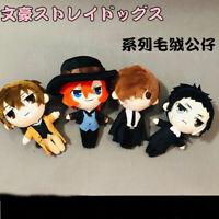 Bungou Stray Dogs Dazai Osamu Nakahara Chuuya Plush Doll Soft Stuffed Toy Gift