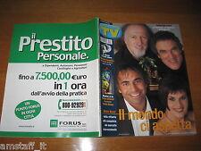 TV SORRISI E CANZONI=2002/12=SPECIALE  FESTIVAL SANREMO MATIA BAZAR=