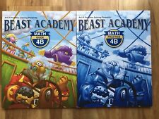 Beast Academy 4B Guide & Practice Books! New!